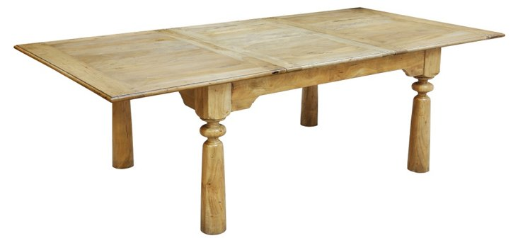 """Clinton Hill 60"""" Dining Table, Driftwood"""