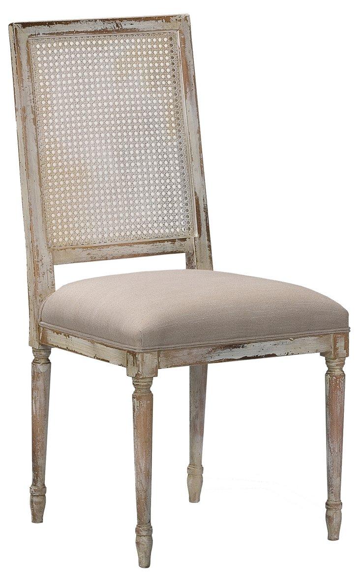 Adams Caneback Chair, Pair
