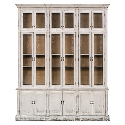 Penthouse Glassfront Cabinet