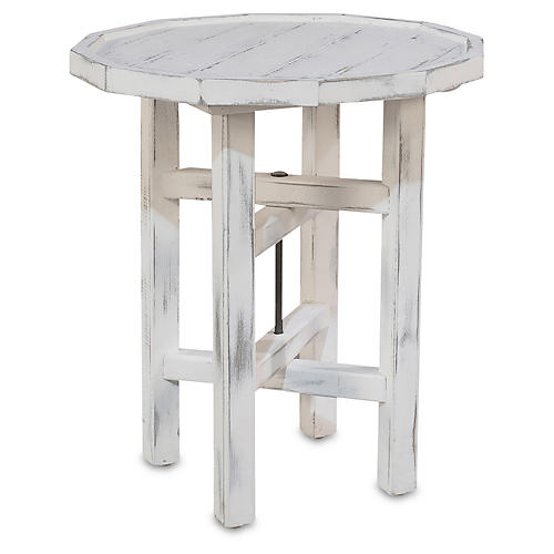 Buttermilk Bar Table, Whitewash