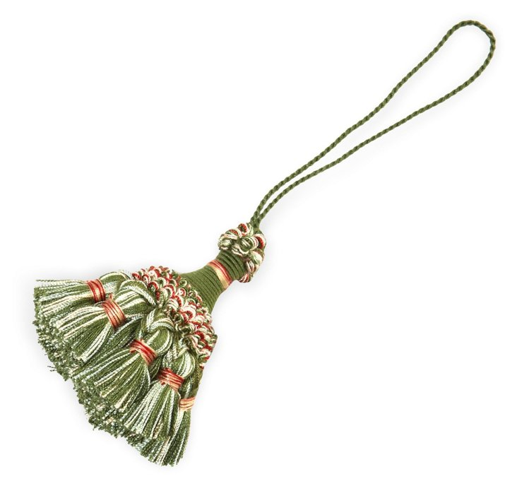 Soliste Key Tassel, Green
