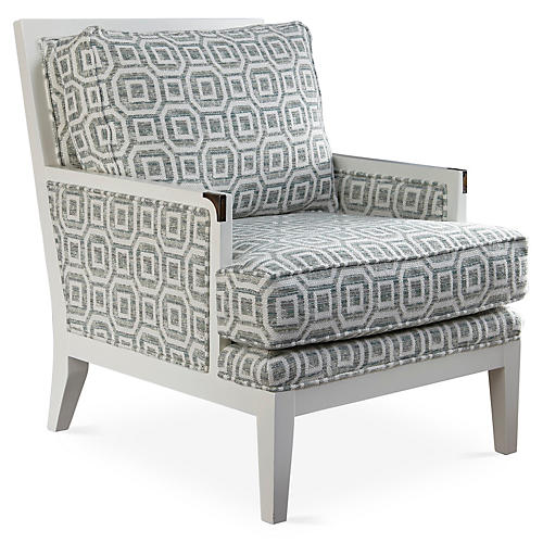 Laguna Accent Chair, Fog