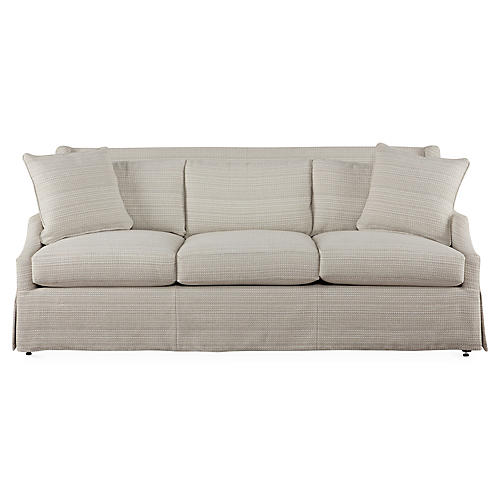 "Riviera 83"" Sofa, Natural"