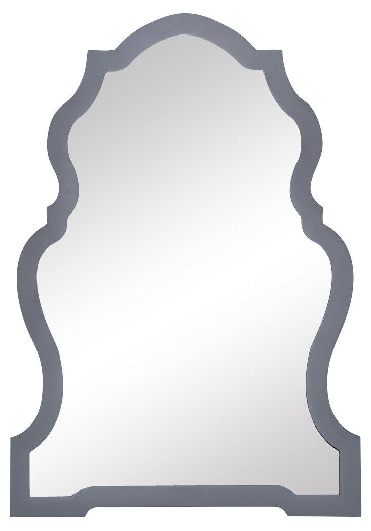 Samara Wall Mirror, Gray