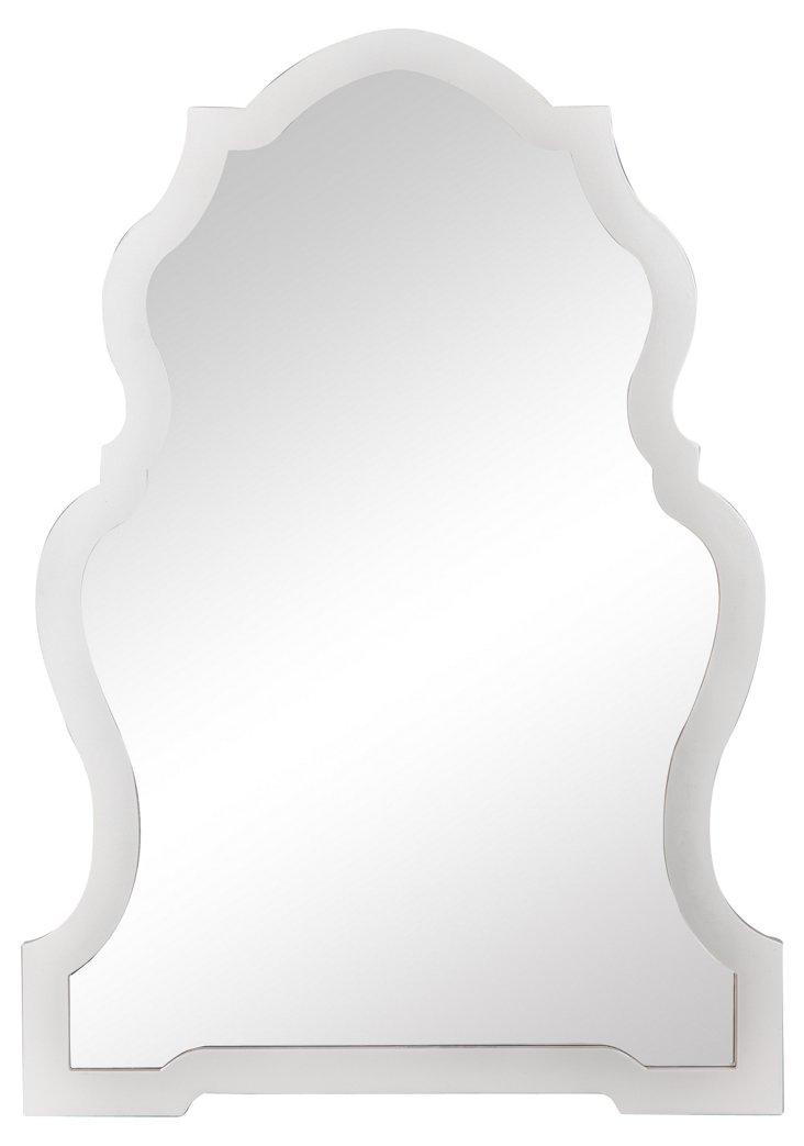 Samara Wall Mirror, White