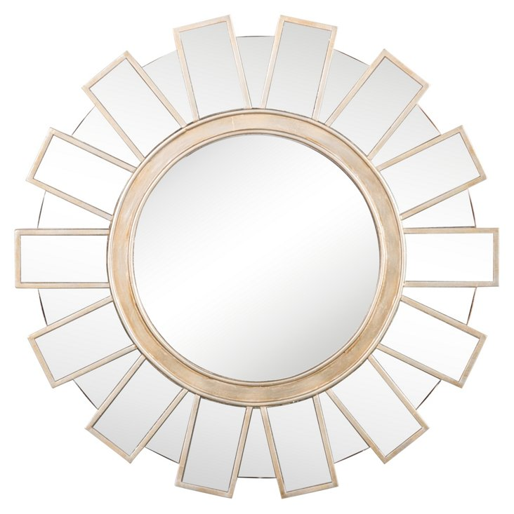 Monika Wall Mirror, Gold