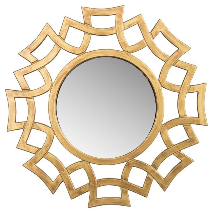 Stella Wall Mirror, Gold