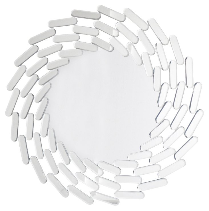 Linkage Wall Mirror, Clear