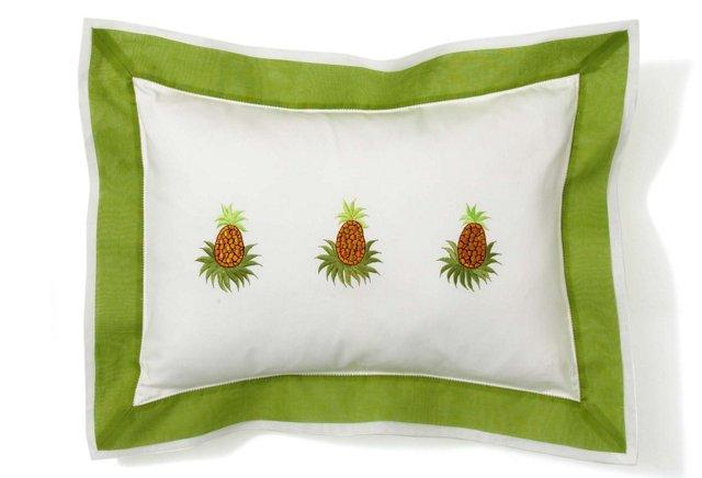 Pineapple Boudoir Decorative Pillow