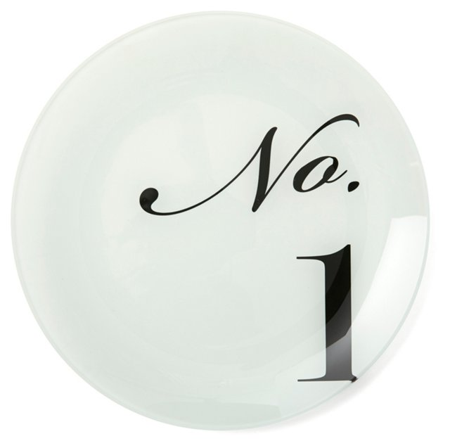 S/10 Asst. French Numbered Plates