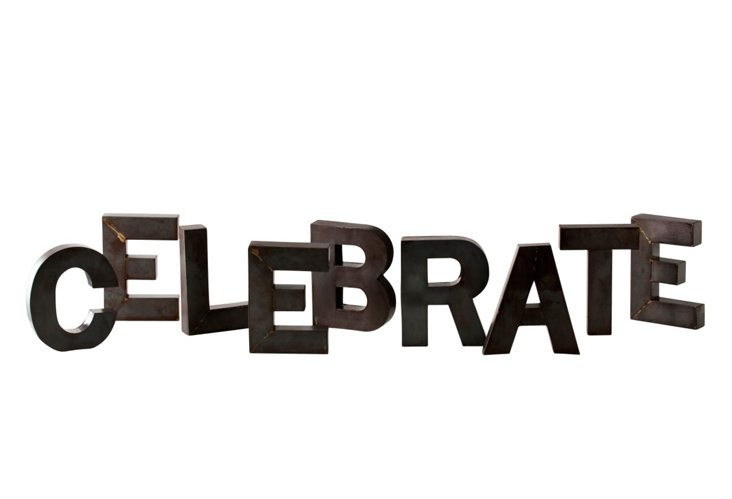 Celebrate Display Letters