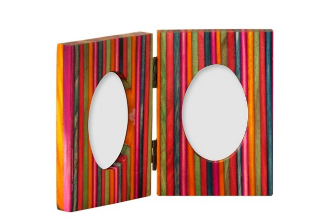 Double 2.75x3.75 Picture Frame
