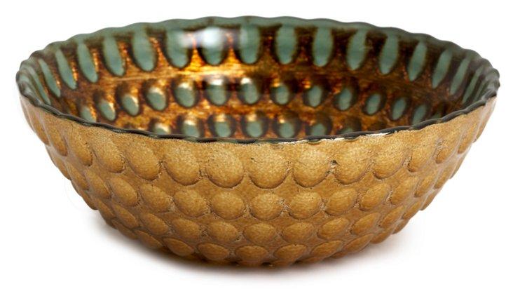 Pearl Bowl, Antique Copper