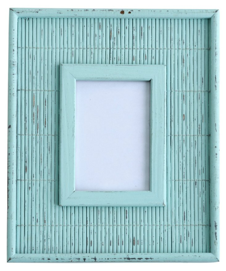 Delray Mist Frame, 4x6, Light Green