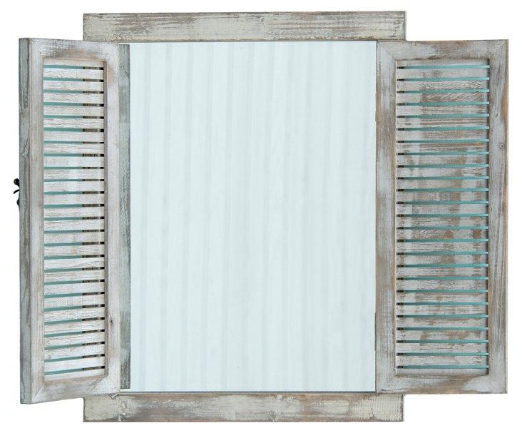 Hampstead Mirror w/ Shutters