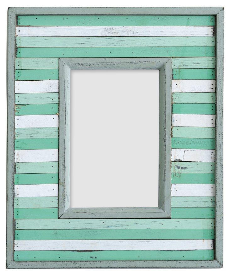 Summerville Frame, 4x6, Seafoam