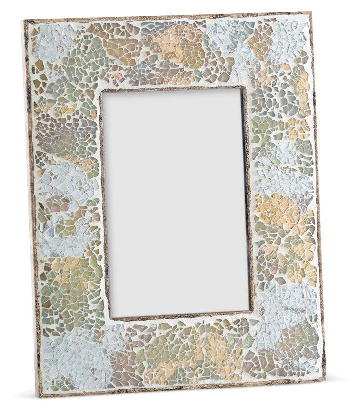 Mosaic Frame, 4x6, Natural