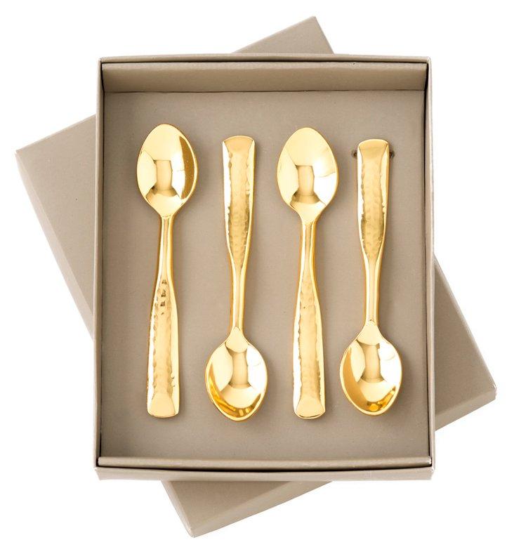 S/4 Levant Demi Spoons