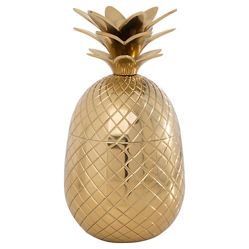 Pineapple Shaker, Gold