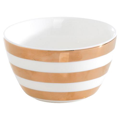 S/4 Aurora Stripe Bowls