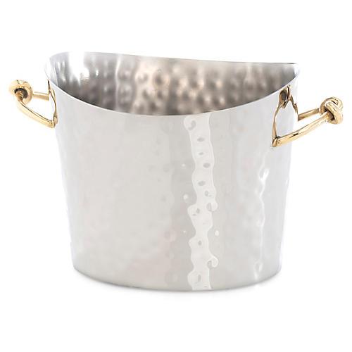 Eternity Ice Bucket, Silver/Gold