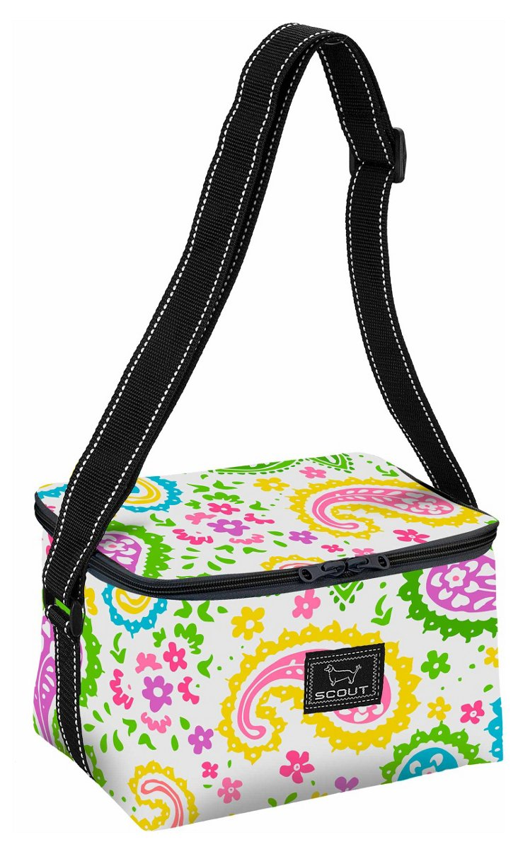 Insulated Lunch Bag, Paisley Brights