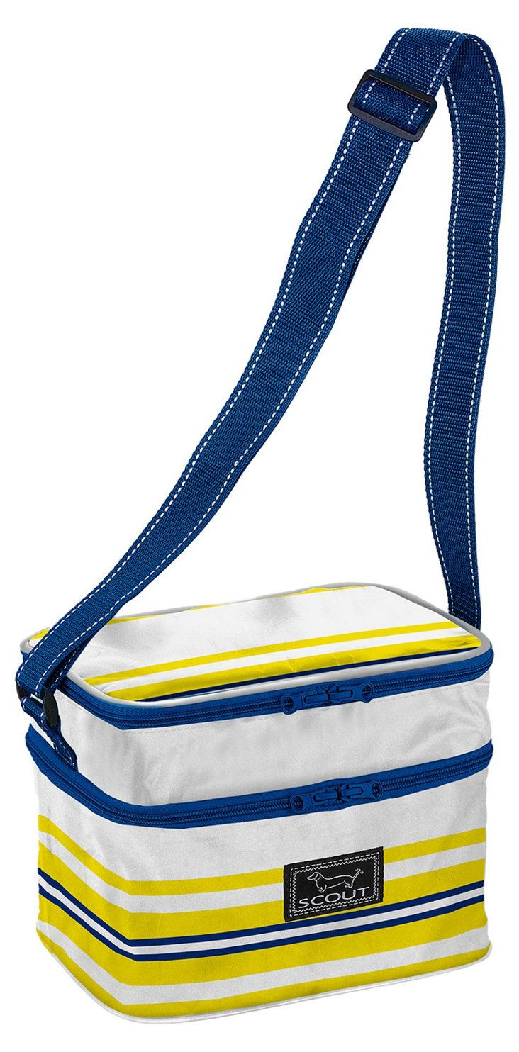 Insulated Lunch Bag, Nautical Stripe
