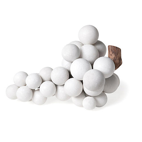 Extra-Large Marble Grapes, White