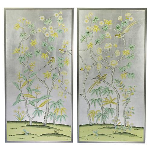 Jardins en Fleur, Birch/Magnolias