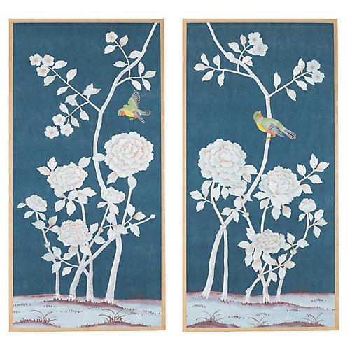 Jardins en Fleur, Pales/Delicate Floral