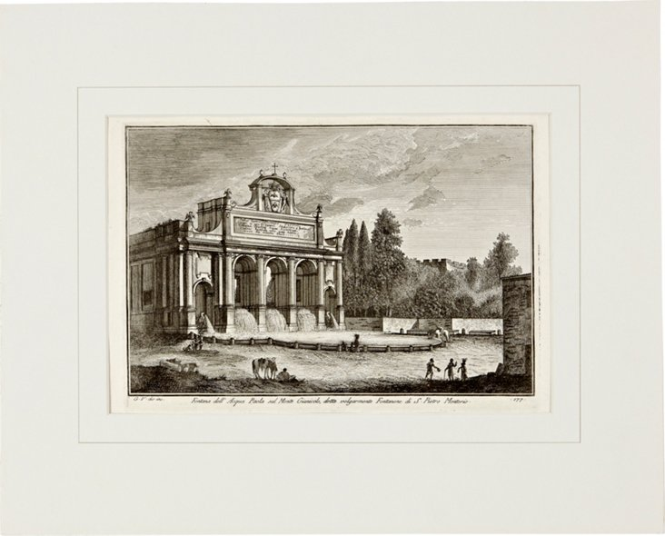 Vasi Etching of Rome VII