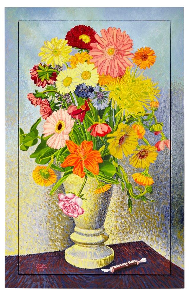 M. Mansuino, Flowers & Tootsie Roll