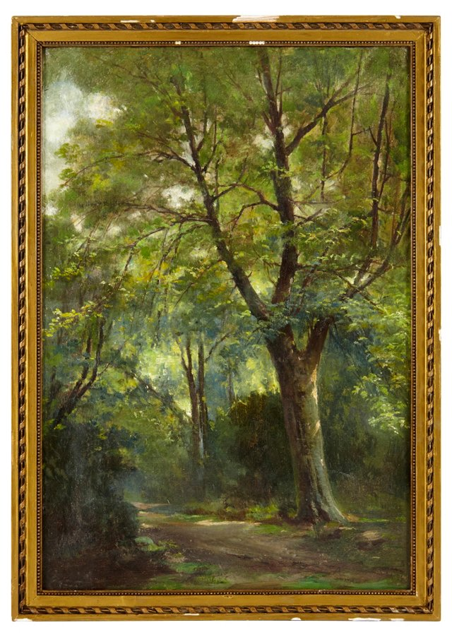 19th-C. Oil Painting