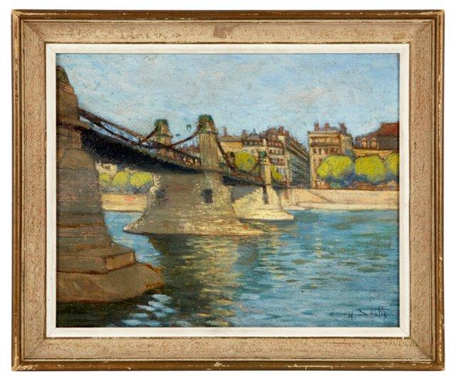 H. Scott, Bridge Over the Seine