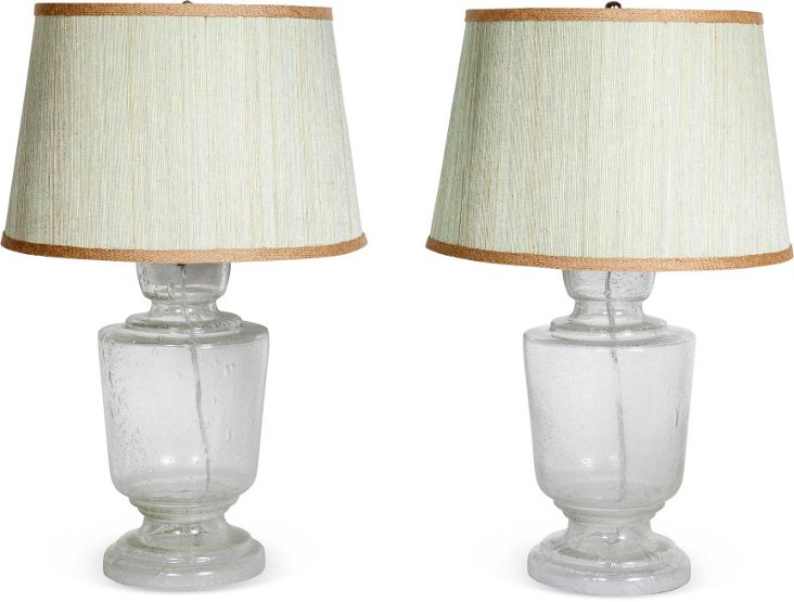 Small Lafitte Table Lamp, Pair