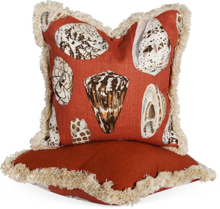 Coquina Pillows, Pair I