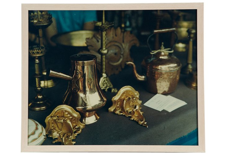 Brass Kitchen Utensils Photograph I