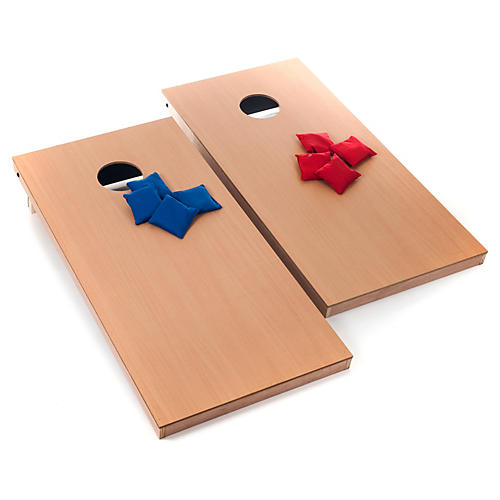 Official Size Cornhole Game