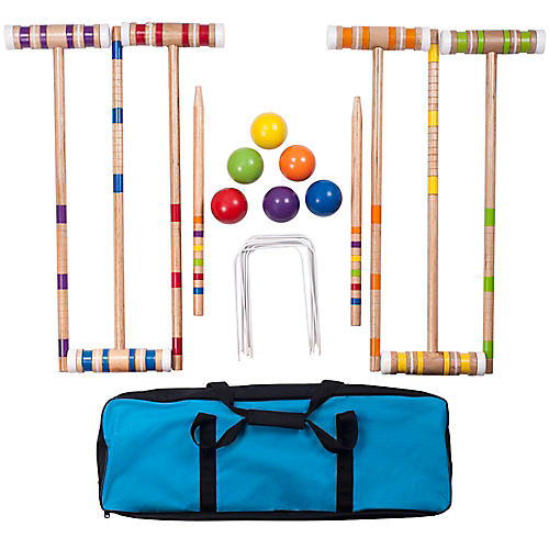 Croquet Set w/Carrying Case