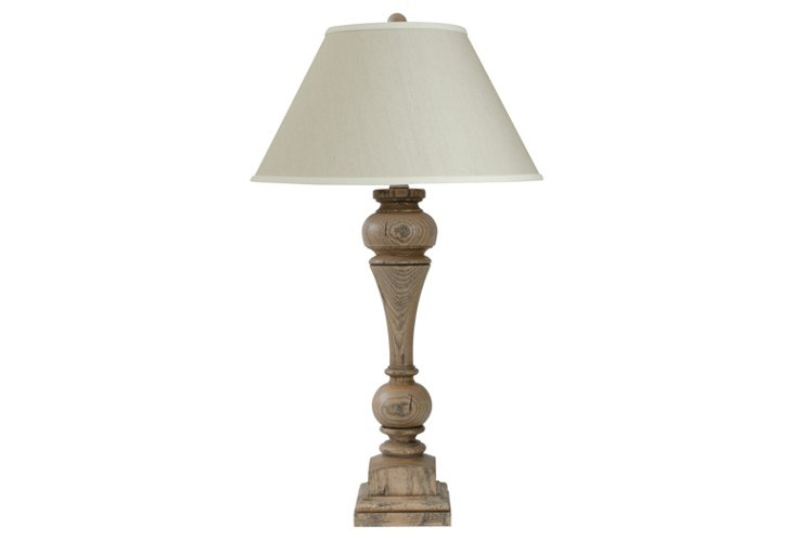 Carriage House Table Lamp, Hudson Gray