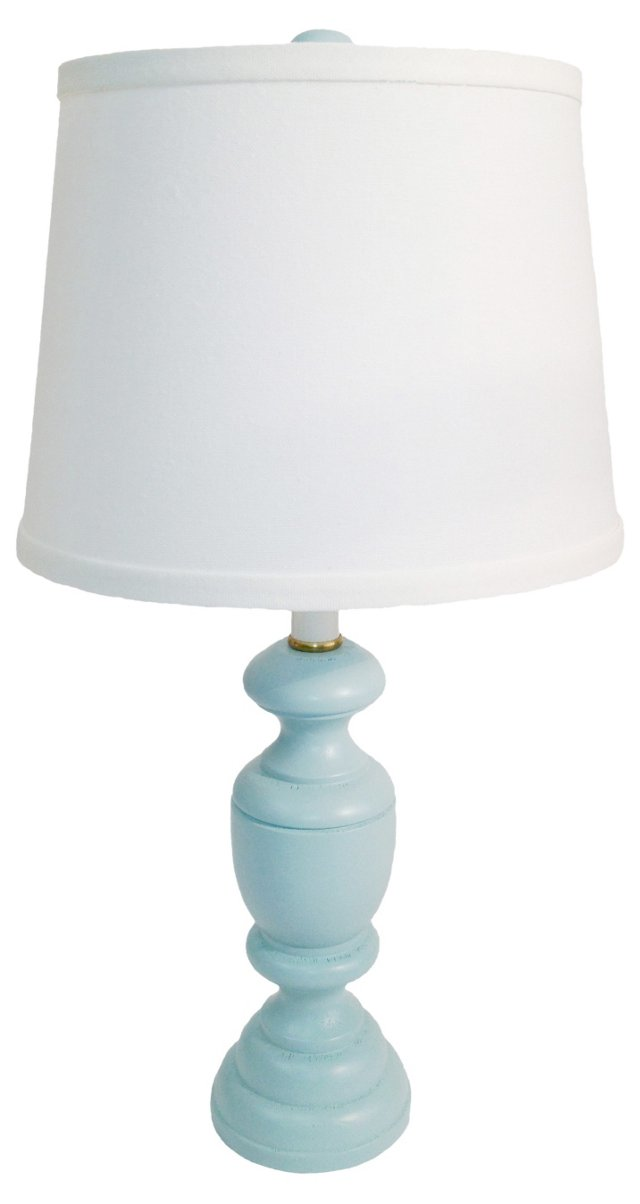 Randolph Accent Lamp, Seafoam Blue