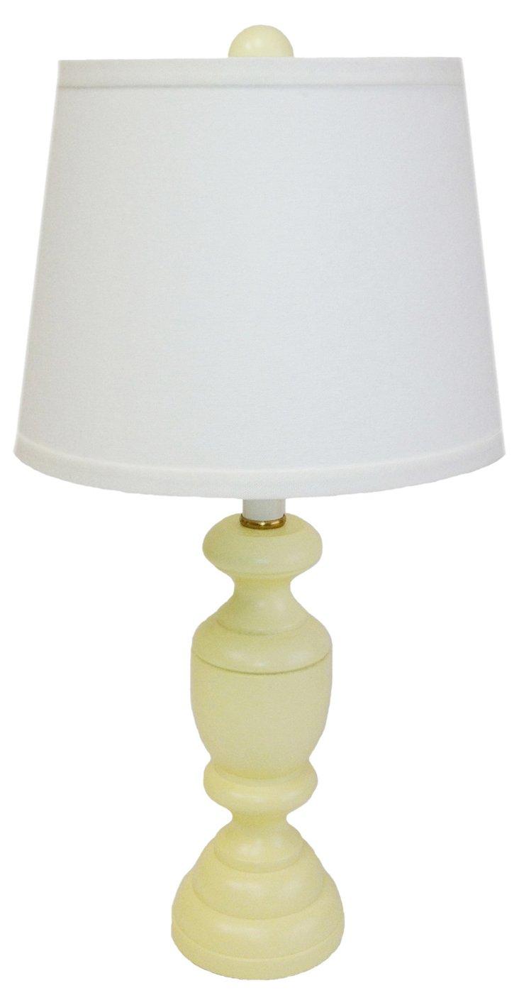 Randolph Accent Lamp, Butter Yellow