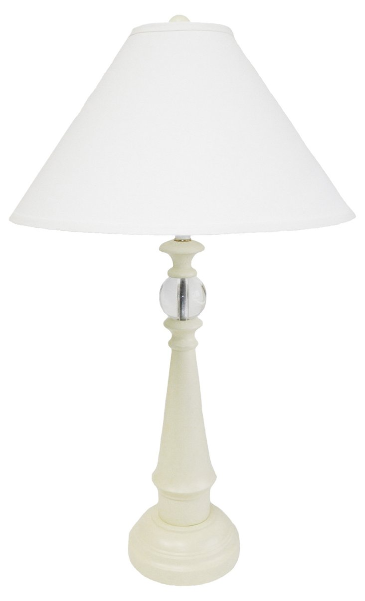 Ships Watch Table Lamp, White