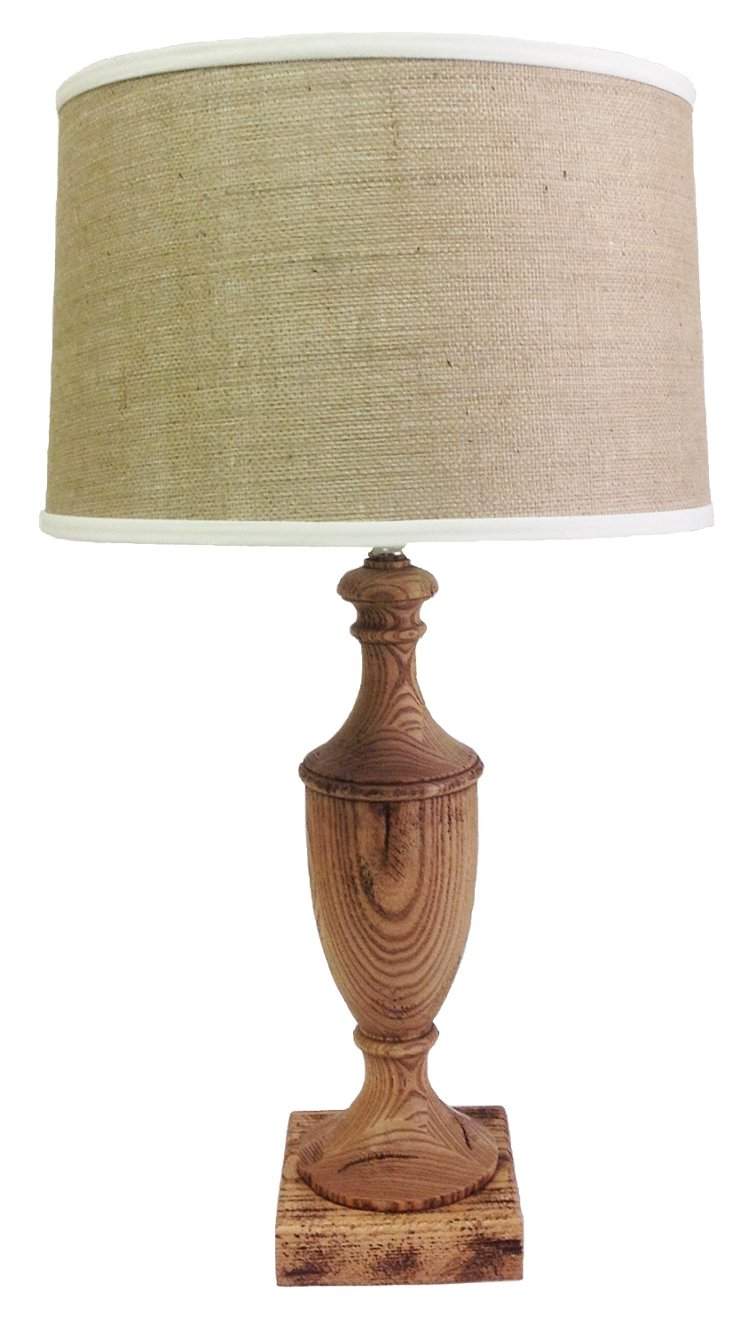 Alice Reclaimed Wood Table Lamp