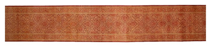 "2'7""x16'4"" Chet Runner, Red/Peach"