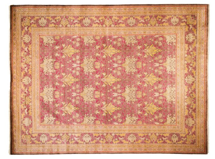 """9'1""""x12' Alipur Rug, Red"""
