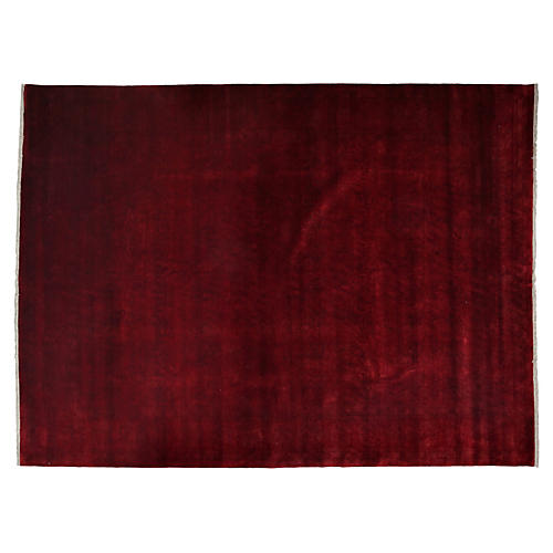 """9'1""""x12'1"""" Zorion Rug, Red"""