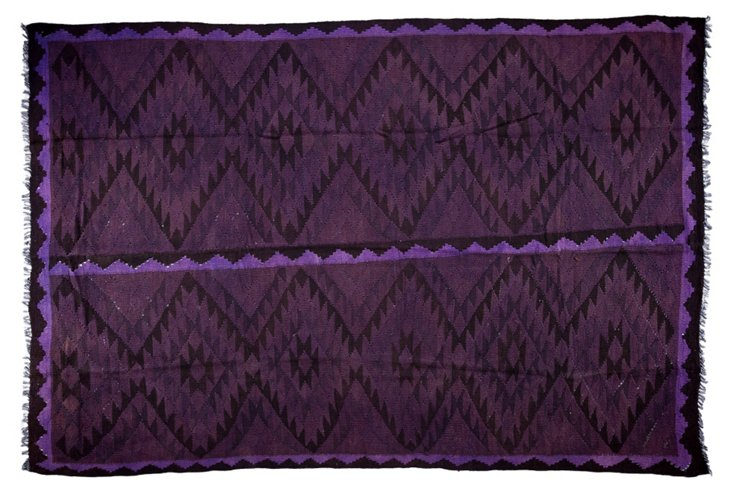 "6'3""x9'1"" Dore Rug, Purple"