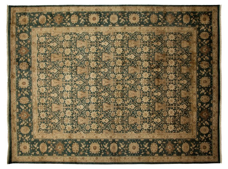 "9'x12'3"" Thierry Rug, Green"