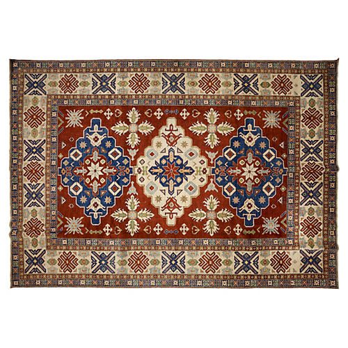 """10'10""""x15'3"""" Trad Rug, Red"""